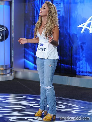 american idol 2011 haley reinhart. American Idol 2011 Hollywood